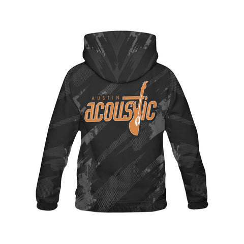 Austin Acoustic Men's Hoodie Black