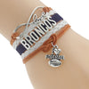 Image of Denver Broncos Bracelets