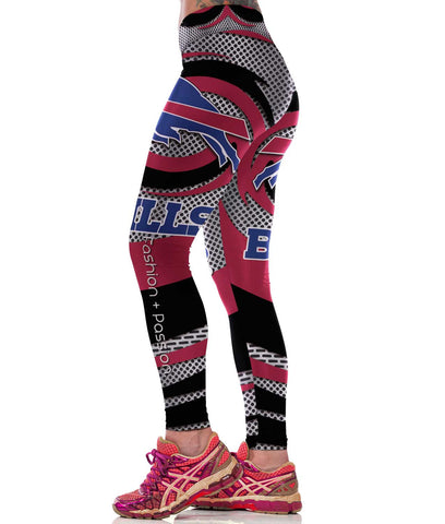 Buffalo Bills Sports Leggings for Women