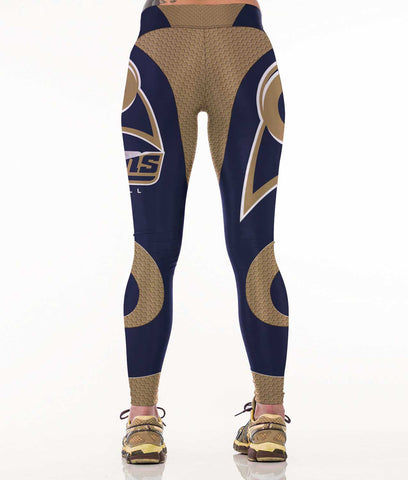 Los Angeles Football Sports Leggings for Women