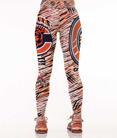 Chicago Bears Sports Leggings for Women