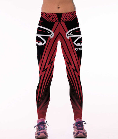 Atlanta Falcons Sports Leggings for Women
