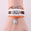 Image of Cleveland Browns Bracelets