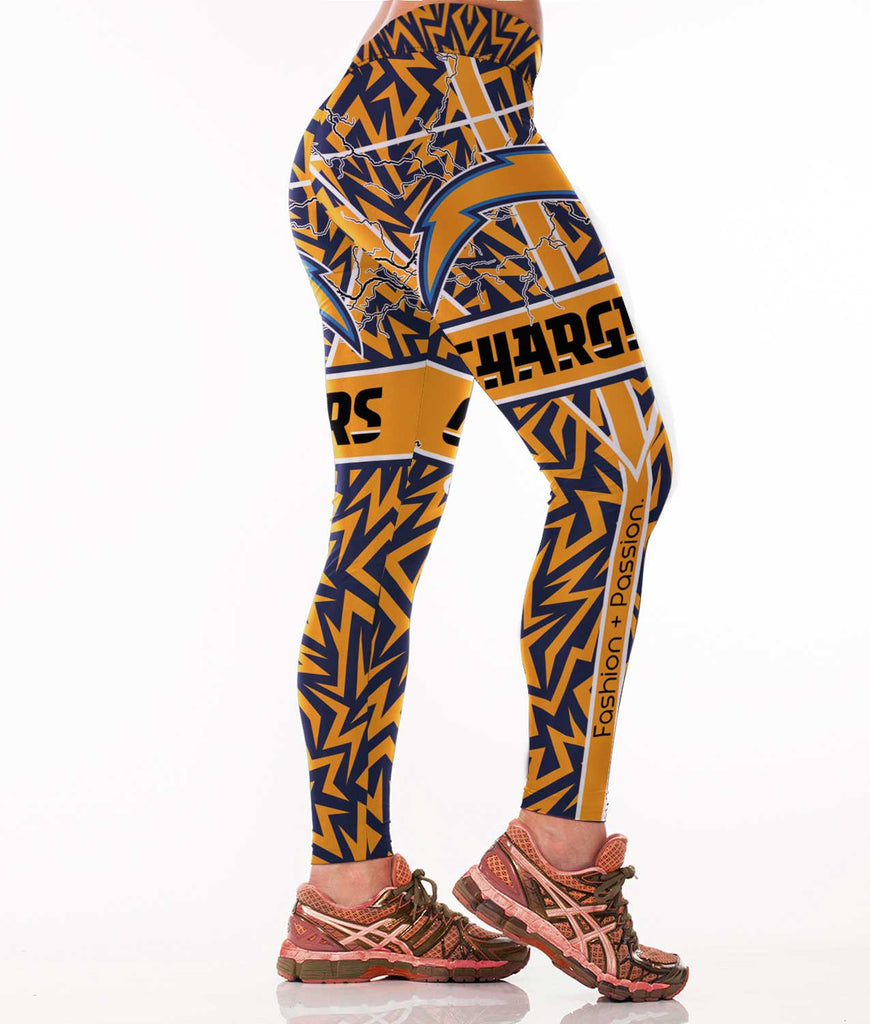 San Diego  Football Sports Leggings for Women