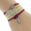 Image of Kansas City Chiefs Bracelets