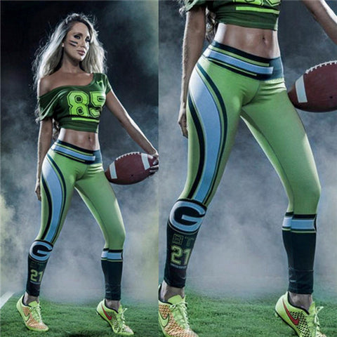 LIMITED EDITION Green Bay Football Sports Leggings
