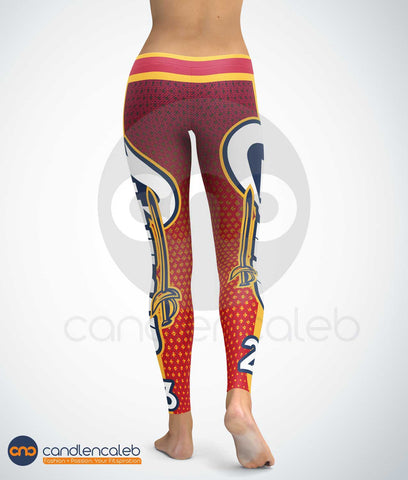 Cleveland #23 Basketball Leggings