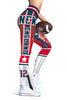 Image of New England (HQ) New Design 2017 Sports Leggings