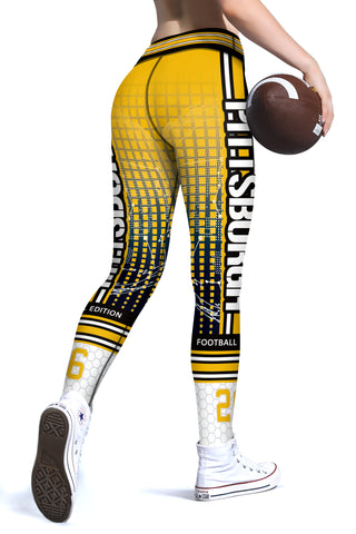 Pittsburgh (HQ) New Design 2017 Sports Leggings