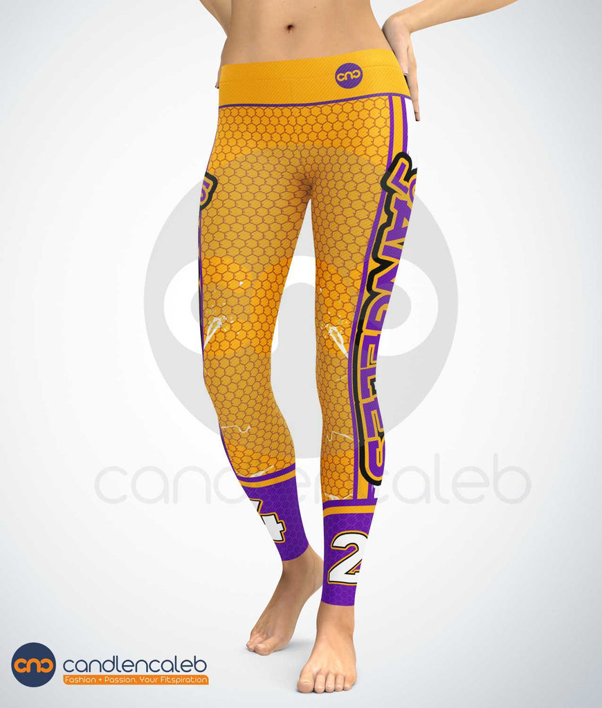 Los Angeles Basketball Leggings