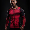 Superhero Deadpool 3D Compression Long Sleeves