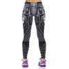 3D Eagle Elastic Waist Leggings
