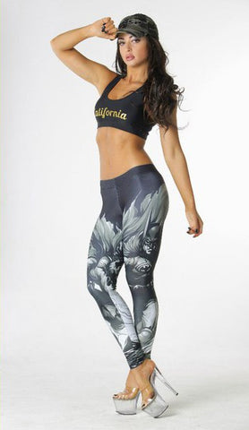 Superhero Batman Leggings for Women