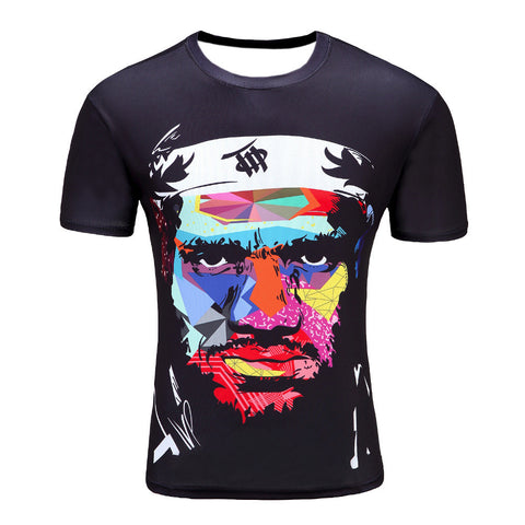 Animation Hip Hop Tees Tops Brand Clothing T-shirt D01