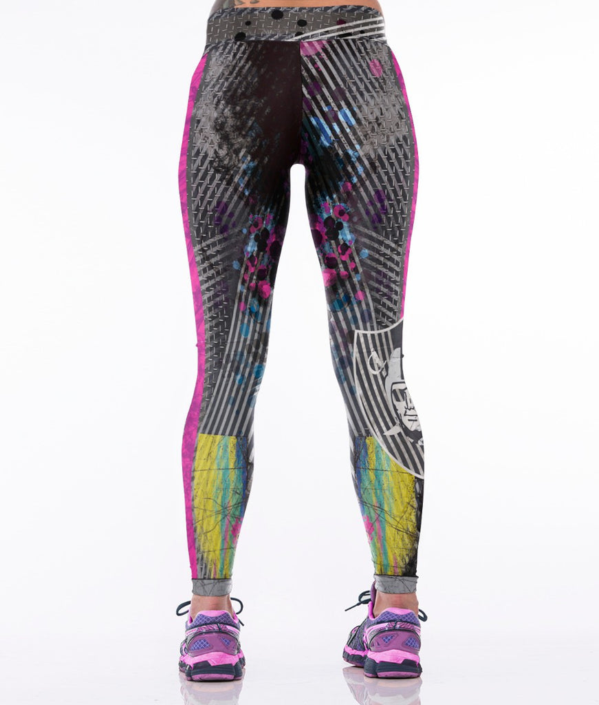 LIMITED EDITION Colorful Oakland Sports Leggings