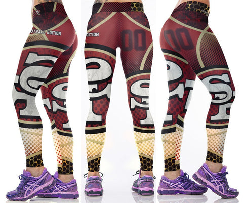 LIMITED EDITION San Francisco Sports Leggings