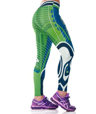 LIMITED EDITION Seahawks Football Sports Leggings