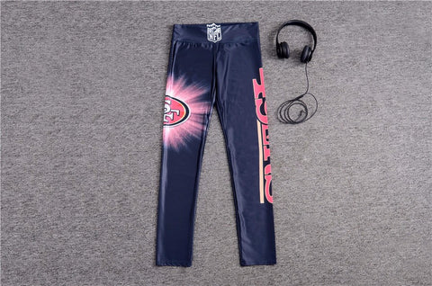 New Black San Francisco  American Football Yoga Pants