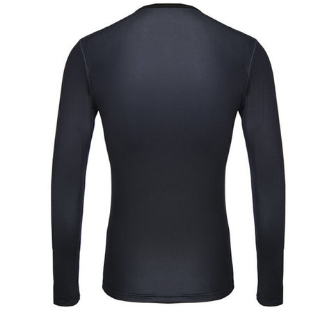 Blue Punisher Compression Long Sleeves