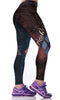 Image of Harley Quinn 3D Printed Spandex Leggings for Women