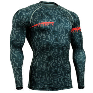 Dark Gearfix Life Track Compression Long Sleeve