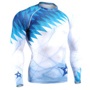 Blue Star Life Track Compression Long Sleeve