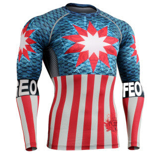 GEOFEO  Life Track Compression Long Sleeve