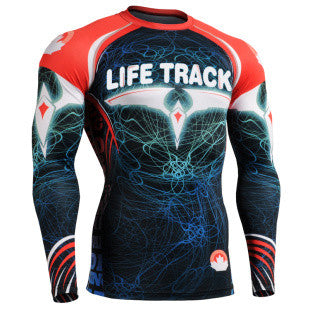 Diamond Phoenix Life Track  Compression Long Sleeve