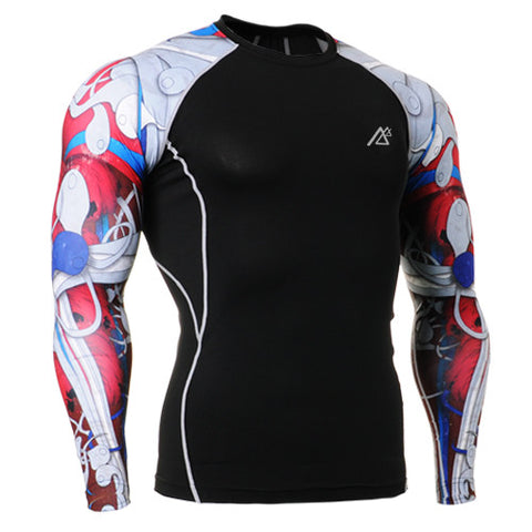 Hot Graffiti Life Track Compression Long Sleeve