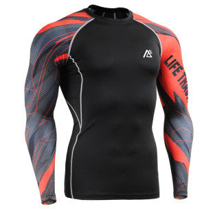 Red Hot Life Track Compression Long Sleeve