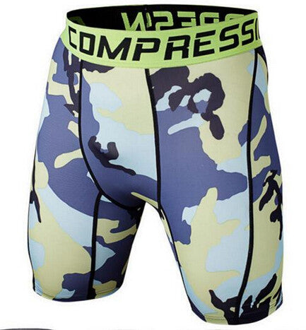 Camouflage Compression Shorts Pants for Men