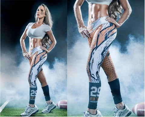 LIMITED EDITION Denver Football Sports Leggings