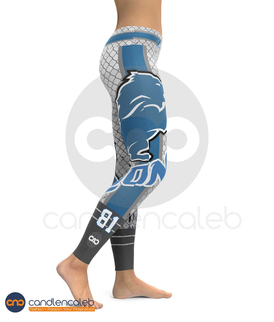 Detroit Sports Leggings for Women