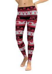 Atlanta Ugly Christmas Edition (High Quality Leggings)