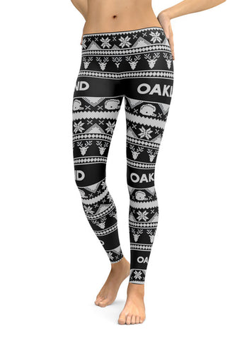 Oakland Ugly Christmas Edition (High Quality Leggings)