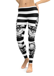 Cheshire Cat Black High Quality Leggings
