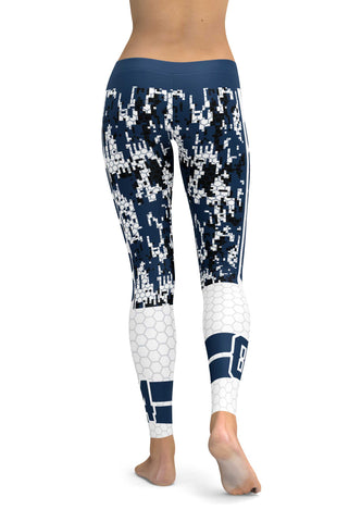 CNC Dallas Sports Leggings (High Quality)