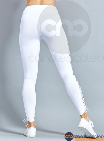 Lana Side Lace-Up WHITE