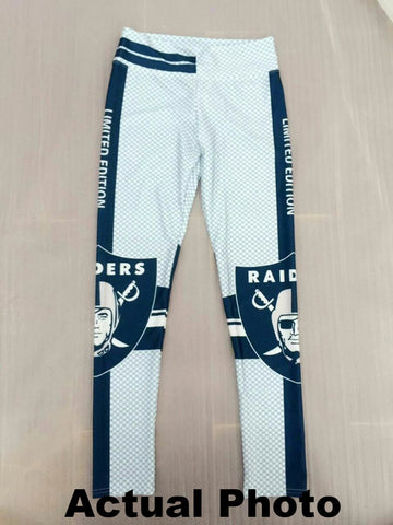 LIMITED EDITION Blue and White Oakland Sports Leggings
