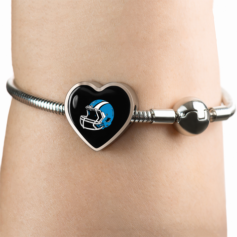 Carolina Luxury Heart Bracelet w/Charm