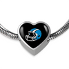 Image of Carolina Luxury Heart Bracelet w/Charm