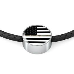 Thin Camouflage Line Necklace