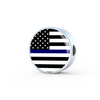 Image of Thin Blue Line Necklace