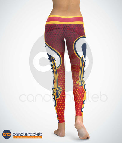 Cleveland #2 Basketball Leggings