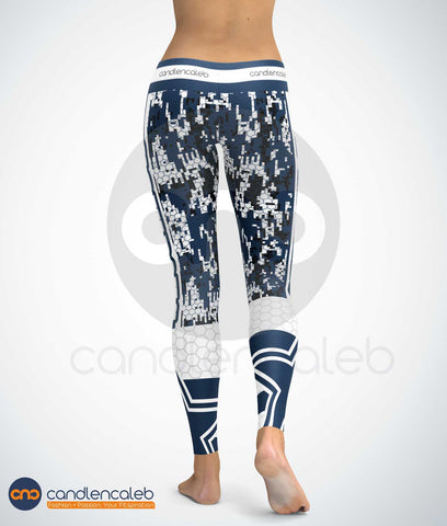Dallas Star High Quality Yoga leggings