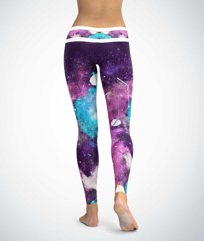 Ombre Galaxy Leggings