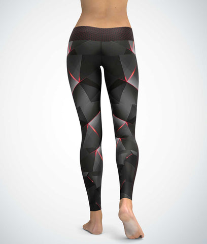 Cyborg Dark Poly Leggings