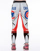 Chicago Cubs Baseball Sports Leggings