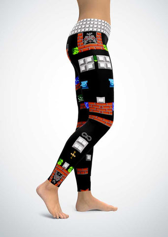 Battle City Leggings