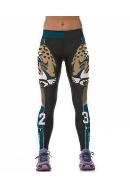 LIMITED EDITION DARK Jacksonville Sports Leggings